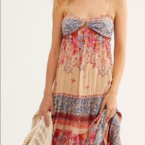 Free People, Give a Little Maxi Slip